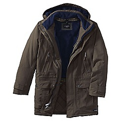 Lands' End - Brown men's classic squall parka