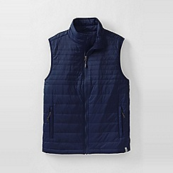 Lands' End - Blue men's primaloft packable gilet