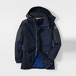 Lands' End - Blue men's expedition parka