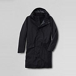 Lands' End - Black men's primaloft commuter coat