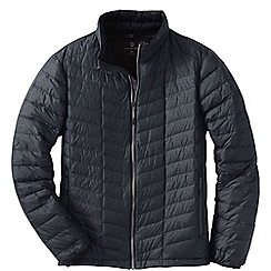 Lands' End - Grey men's heathered lightweight down jacket