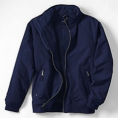 Lands' End - Blue men's tall classic squall jacket