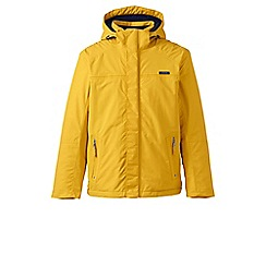 Lands' End - Yellow hooded squall reg jacket