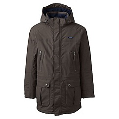 Lands' End - Brown tall classic squall parka
