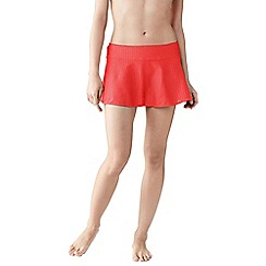 Lands' End - Pink women's beach living swimmini lace
