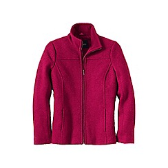 Lands' End - Red women's boiled wool jacket