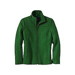 Lands' End - Green women's boiled wool jacket