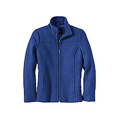 Lands' End - Blue plus boiled wool jacket