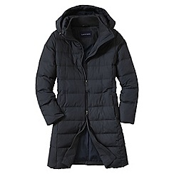 Lands' End - Black women's chalet down coat