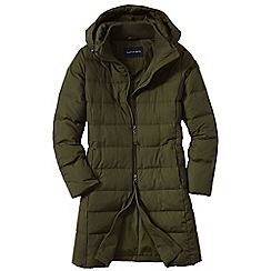 Lands' End - Khaki chalet down coat