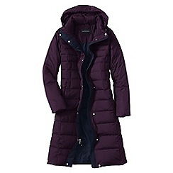 Lands' End - Red women's chalet down long coat