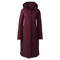 Lands' End - Purple commuter down long coat