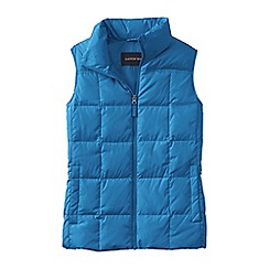 Lands' End - Blue women's plus down gilet