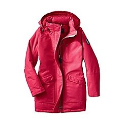 Lands' End - Red women's expedition down parka