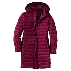 Lands' End - Purple lightweight down packable coat