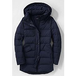Lands' End - Blue women's premier down parka