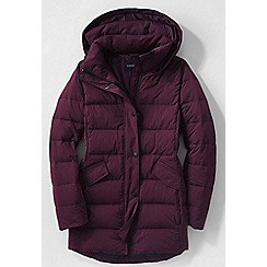 Lands' End - Red women's premier down parka