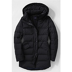 Lands' End - Black women's premier down parka