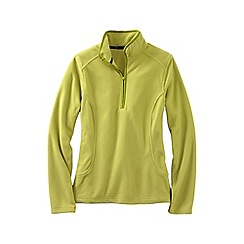 Lands' End - Green everyday fleece 100 half-zip