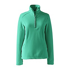Lands' End - Green plus everyday fleece 100 half-zip
