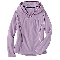 Lands' End - Pink women's everyday fleece 100 hoodie