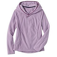 Lands' End - Pink women's everyday fleece 100 hoodie