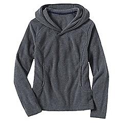 Lands' End - Grey women's everyday fleece 100 hoodie