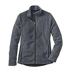 Lands' End - Grey women's everyday fleece 100 jacket