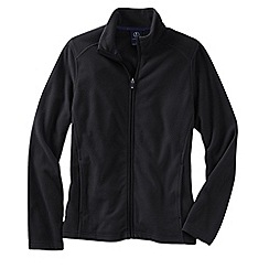 Lands' End - Black women's everyday fleece 100 jacket