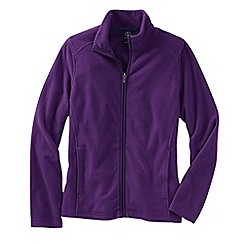 Lands' End - Purple women's everyday fleece 100 jacket