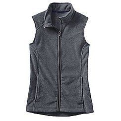Lands' End - Grey women's everyday fleece 100 gilet
