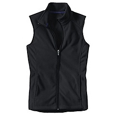 Lands' End - Black everyday fleece 100 gilet