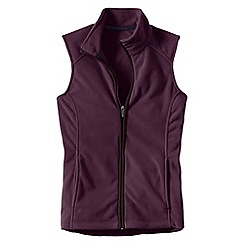 Lands' End - Red women's everyday fleece 100 gilet
