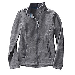 Lands' End - Grey women's everyday fleece 200 jacket