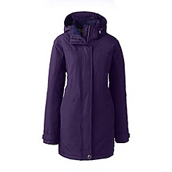 Lands' End - Purple regular squall insulated parka