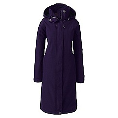 Lands' End - Purple squall stadium coat