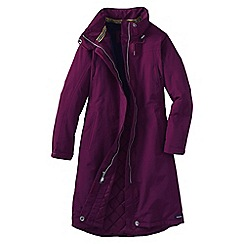 Lands' End - Red women's squall plus stadium coat