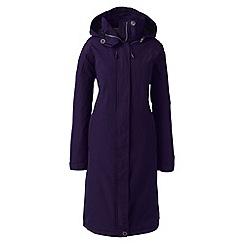 Lands' End - Purple squall stadium coat