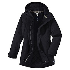 Lands' End - Black squall® parka