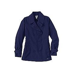 Lands' End - Blue women's squall pea coat