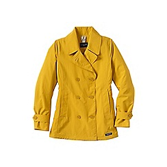Lands' End - Yellow women's squall pea coat