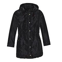 Lands' End - Black insulated coat