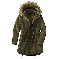 Lands' End - Green insulated coat