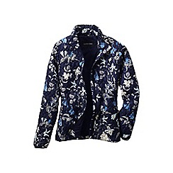 Lands' End - Blue patterned primaloft packable jacket