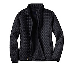 Lands' End - Black women's primaloft packable jacket