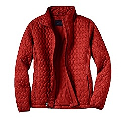 Lands' End - Red women's primaloft packable jacket