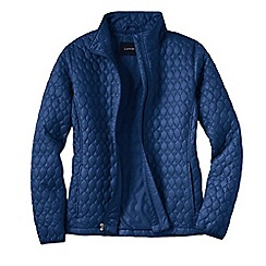 Lands' End - Blue women's primaloft packable jacket