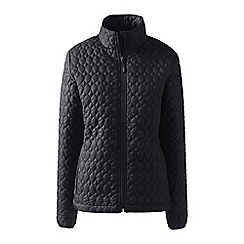 Lands' End - Black petite primaloft packable jacket
