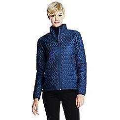 Lands' End - Blue petite primaloft packable jacket