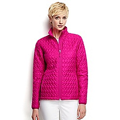 Lands' End - Pink petite primaloft packable jacket
